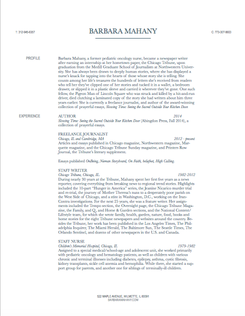 resume page 1 08.2015