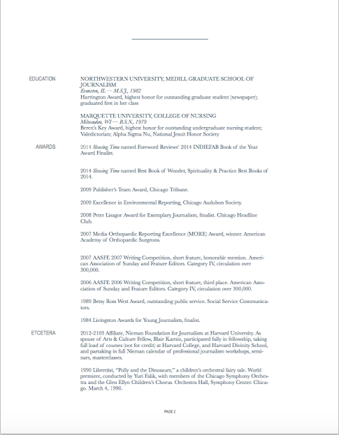 resume page 2 08.2015