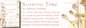 slowing time cover bookmark